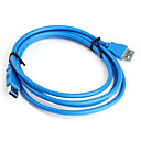 Hi-Speed USB 3.0 macho a un cable de extensión de sexo femenino (1,8 m)