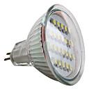 MR16 1.5W 24x3528 SMD 50-60LM Natural White Light LED Spot Bulb (12V)