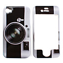 Etui de Protection Style Appareil Photo pour iPhone 4/4S - Assortiment de Couleurs