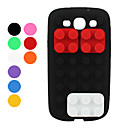 Brick Style Silicone Case for Samsung Galaxy S3 i9300