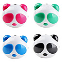 altoparlante portatile mini panda (colori assortiti)