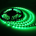 5M 5W 300x3528 SMD Green Light Flexible LED Strip Lamp (DC 12V)