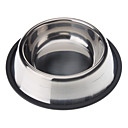 Stainless Steel Anti-Skidding Pet Food Bowl for Dogs Cats(XS-XXL)