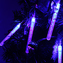 1.2M 10-LED Blase Stick-Shaped Blue Light String Fairy Lamp for Christmas (3xAA)