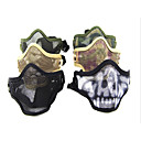 Multi-Color respirant Airsoft en acier inoxydable maille Masque Skull (couleurs assorties)