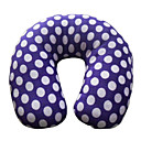 Spot Pattern U-Shape Travel Neck Pillow (Random Color)