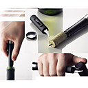 Air Pressure Type Wine Bottle Opener with Foil Cutter Knife