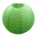 Green Light Papper Chinese Lantern Lampa (12-pack)