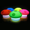 Colorful Night Light a forma di fungo (3xAAA, colore casuale)