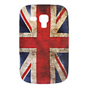 Retro design The Union Jack Mønster Myk Veske til Samsung Galaxy Trend Duos S7562