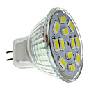 GU4(MR11) 6W 12 SMD 5730 570 LM Natural White MR11 LED Spotlight DC 12 V