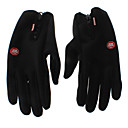 WINDSTOPPER Nero Warm-keeping/Windproof Touch Screen Ciclismo Guanti