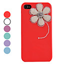 Vintage Pearl Flower Wzór Hard Case dla iPhone 4/4S (kolory Assorted)