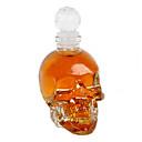 crystal skull 125ml vodka vinglas flaska karaff