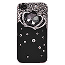 Fashionable Zircon Coroa Imperial Padrão Hard Case para iPhone 4/4S
