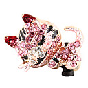 Lovely Zircon Cat Pattern Anti-pöly Plug (Random Colors)