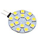 Buy 2W G4 LED Bi-pin Lights 15 SMD 5050 150 lm Natural White AC 12 V