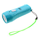 Omeika OMK-3235 Rechargeable 1-Mode 3-LED Flashlight (Assorted Colors)