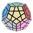 ShengShou dodécaèdre 12 Couleur Megaminx Magic Cube (Black Base)