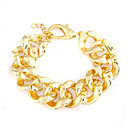 Punk Style Twisted Pattern Bracelet(Assorted Colors)