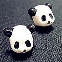 3.5mm Cute Panda Head Anti-dust Plug