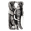 Elephant Pattern Hard Case voor Samsung Galaxy S4 I9500
