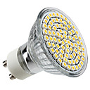 GU10 3.5 W 80 SMD 3528 300 LM Warm White MR16 Spot Lights AC 220-240 V
