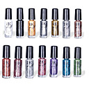 14st BK Multi-Color Nail Art Top Coat Dekorativ Polska (5 ml)