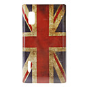 Retro brittiska flaggan Pattern Hard Case för LG Optimus L5 E612