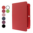 10.1 Inch Solid Color Litchi Pattern Full Body Case met Stylus en Screen Protector (verschillende kleuren)
