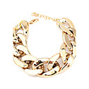 Wide Chunky Golden Chain Bracelet