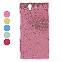 Shimmering Powder Designed PC Hard Case for Sony L36h Xperia Z (Assorted Colors)