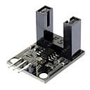 infrarød stråling velometer optiske sensormodul for (for arduino) - svart