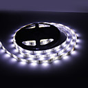 Waterproof 5M 30W 150x5050 SMD Cold White Light LED Strip Lamp (12V,IP44)