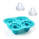 4-Cell DIY Octopus Shaped Ice Tray Mould