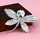 Siver Plated Dragonfly Brooch