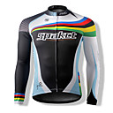 Spakct S13C22 Ultra-Thin 100% poliestere ciclismo maniche lunghe Tops