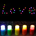 Colorisé bougie en forme de bricolage Night Light (5 PCS)