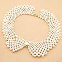 perle perles collier de tempérament collier collier mode tissé à la main-