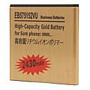 EB575152VU 2430mah bateria de telefone celular para samsung i9000
