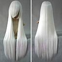 Buy Cosplay Wigs InuYasha Inu Yasha White Long / Straight Anime 80 CM Heat Resistant Fiber Male