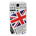 velká británie vlajka vzor plastové pouzdro pro Samsung Galaxy i9500 s4