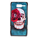 Skull with Flower Eye Pattern Hard Case for MOTO XT890 (RAZR i)