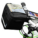 Outdoor Portable Bicycle Front Bag with Case for Mobile Phone Less Than 5.5