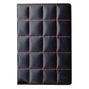 Brilliant Lattice Design Cover 3 Position Protective PU Leather Case for iPad2/3/4