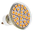 5W GU10 Focos LED 29 SMD 5050 390-430 lm Blanco Cálido AC 100-240 V