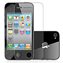Benks Magic Frosted Anti-fingeraftryk Series Screen Protector med mikrofiberkluden til iPhone 4/4S