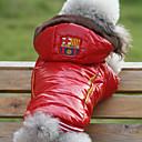 Schöne glatte Schnee-Verteidigung Warm Coat mit Hoodies für Haustiere Hunde (verschiedene Größen)