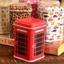 Cuboid Cartoon Tin Box Desktop Storage Box (willekeurige kleur)