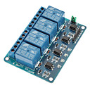 Buy 4 Channel 12V Low Level Trigger Relay Module (For Arduino) (Works Official Boards)
